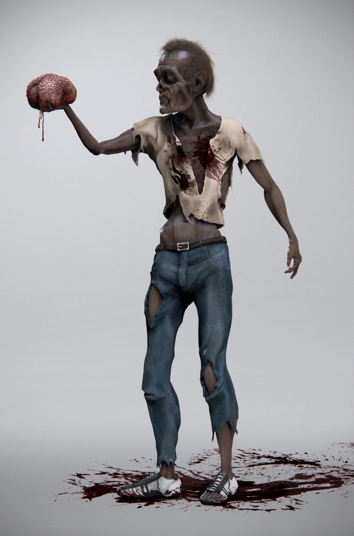 3D_Zombie
