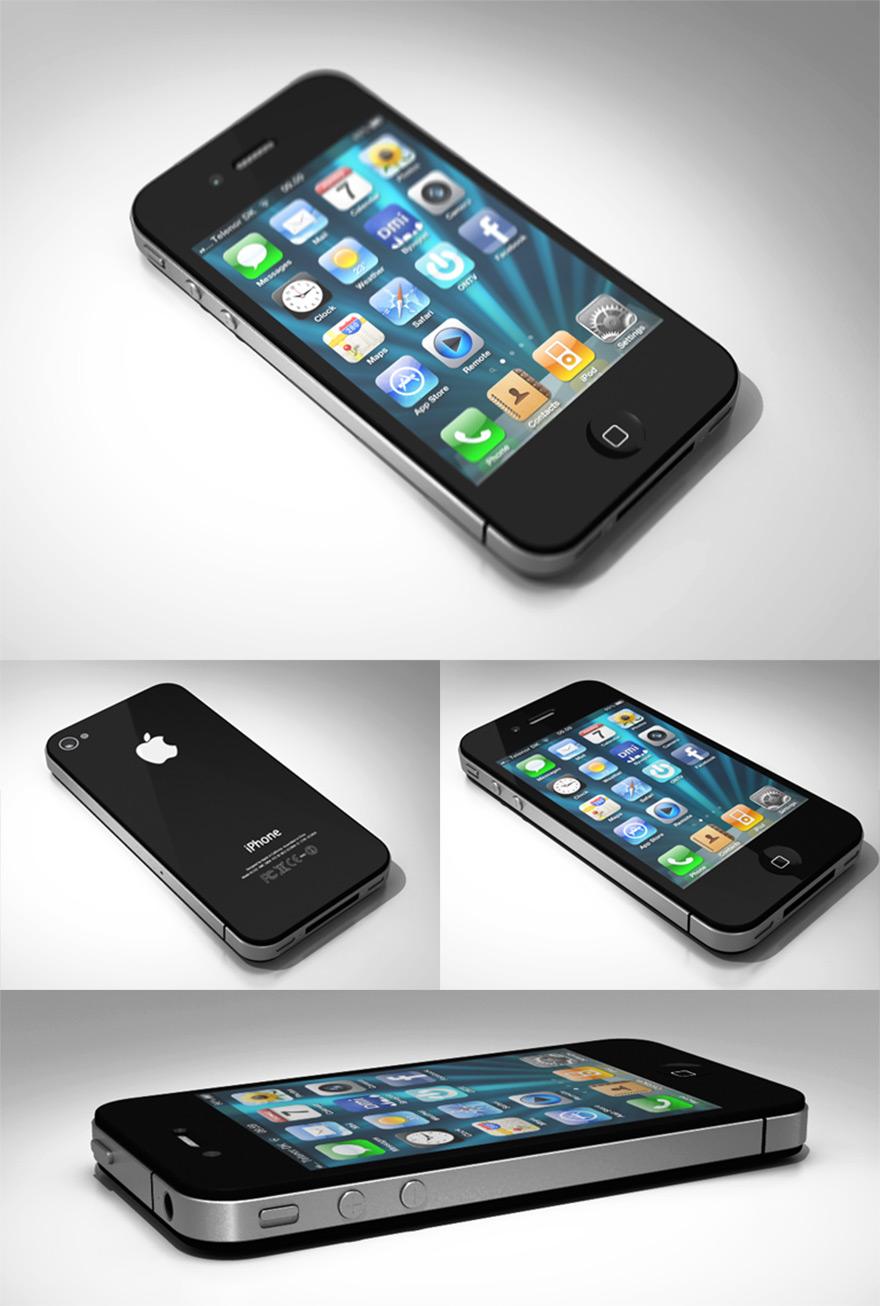 3D_iPhone4