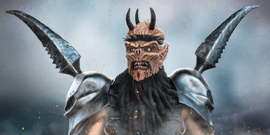 Oderus Urungus was the only character to have existed in every incarnation of Gwar having started as a guitarist then moving to bass and finally lead vocals Like all of Gwars characters Oderus underwent several design changes since his inception